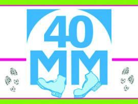 40 MM logo